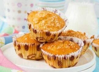 Muffin ananas