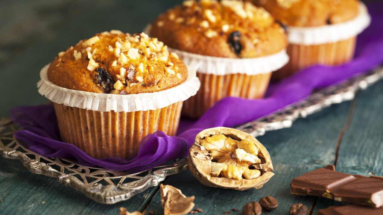Muffin noci