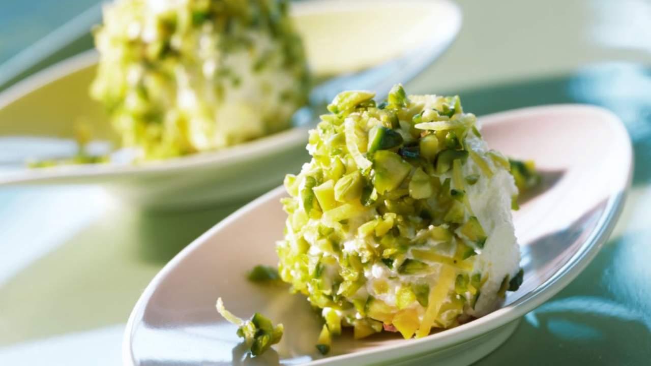 palline ricotta pistacchio ricetta FOTO ricettasprint