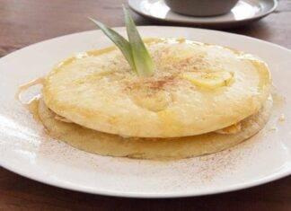 Pancake ananas e cocco