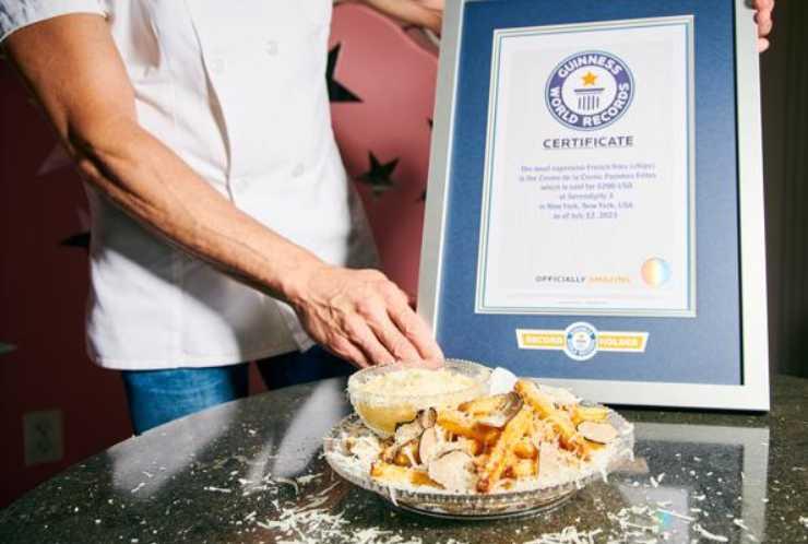 Patatine fritte più care al mondo - RicettaSprint