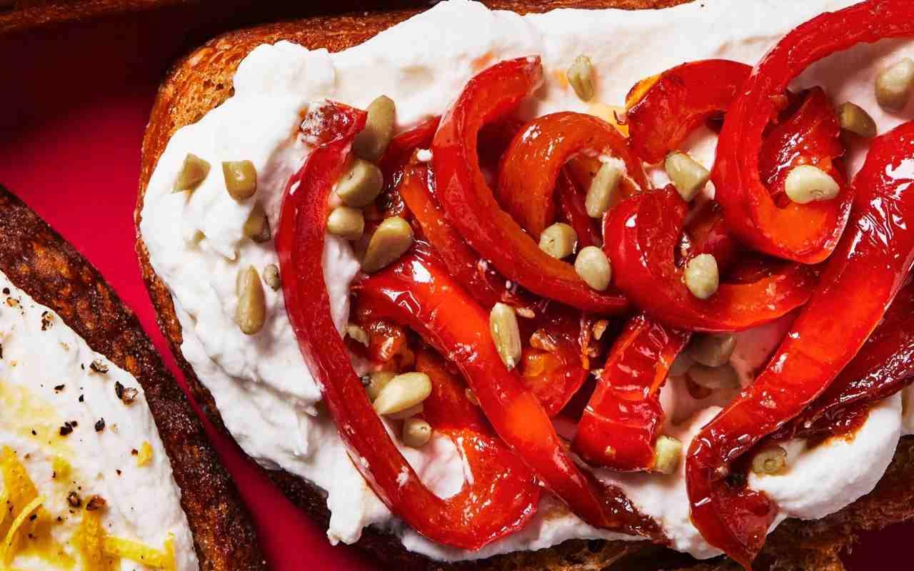 peproni agrodolce crema burrata ricetta FOTO ricettasprint