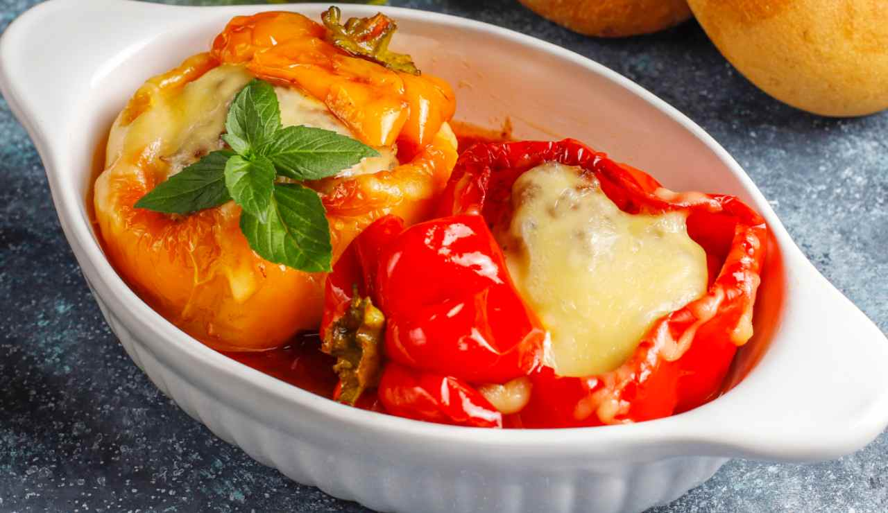 Peperoni ripieni del Casaro ricettasprint