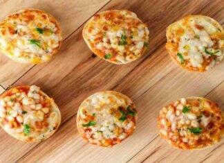 Pizzette veloci senza lievitazione cotte in padella