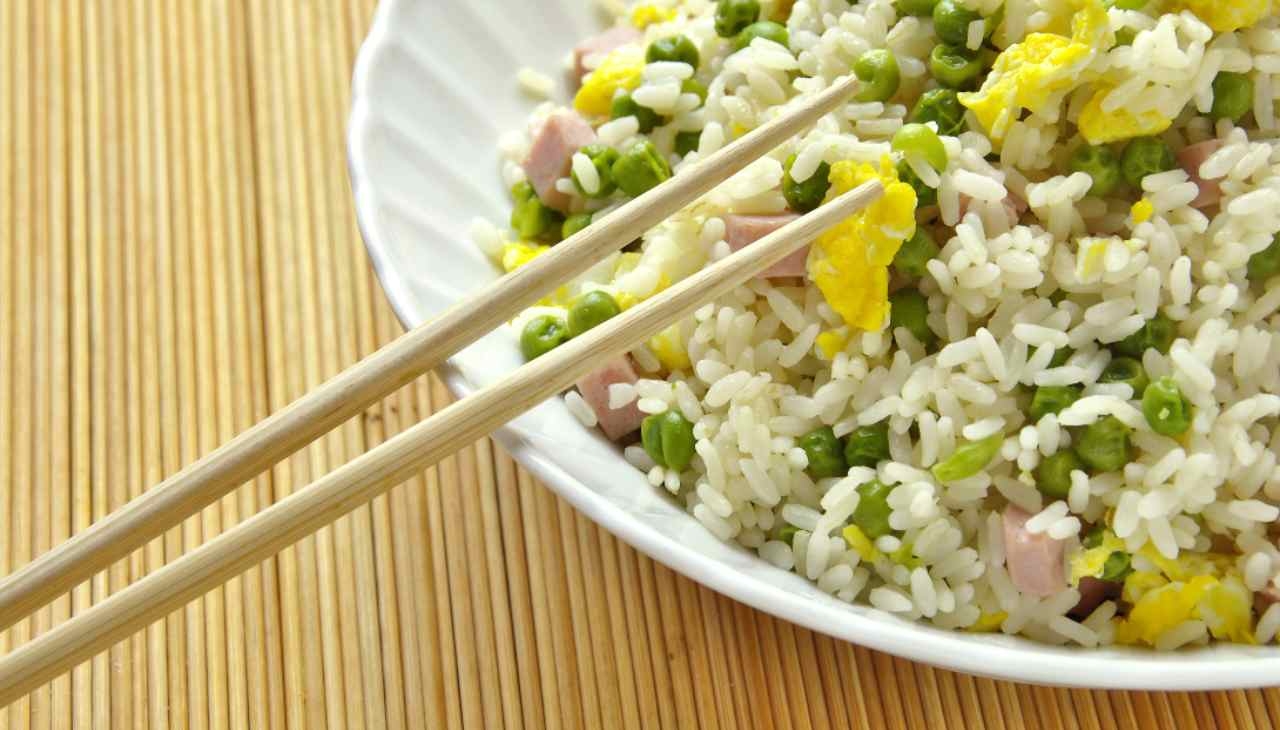 Ricetta cinese di un primo di riso