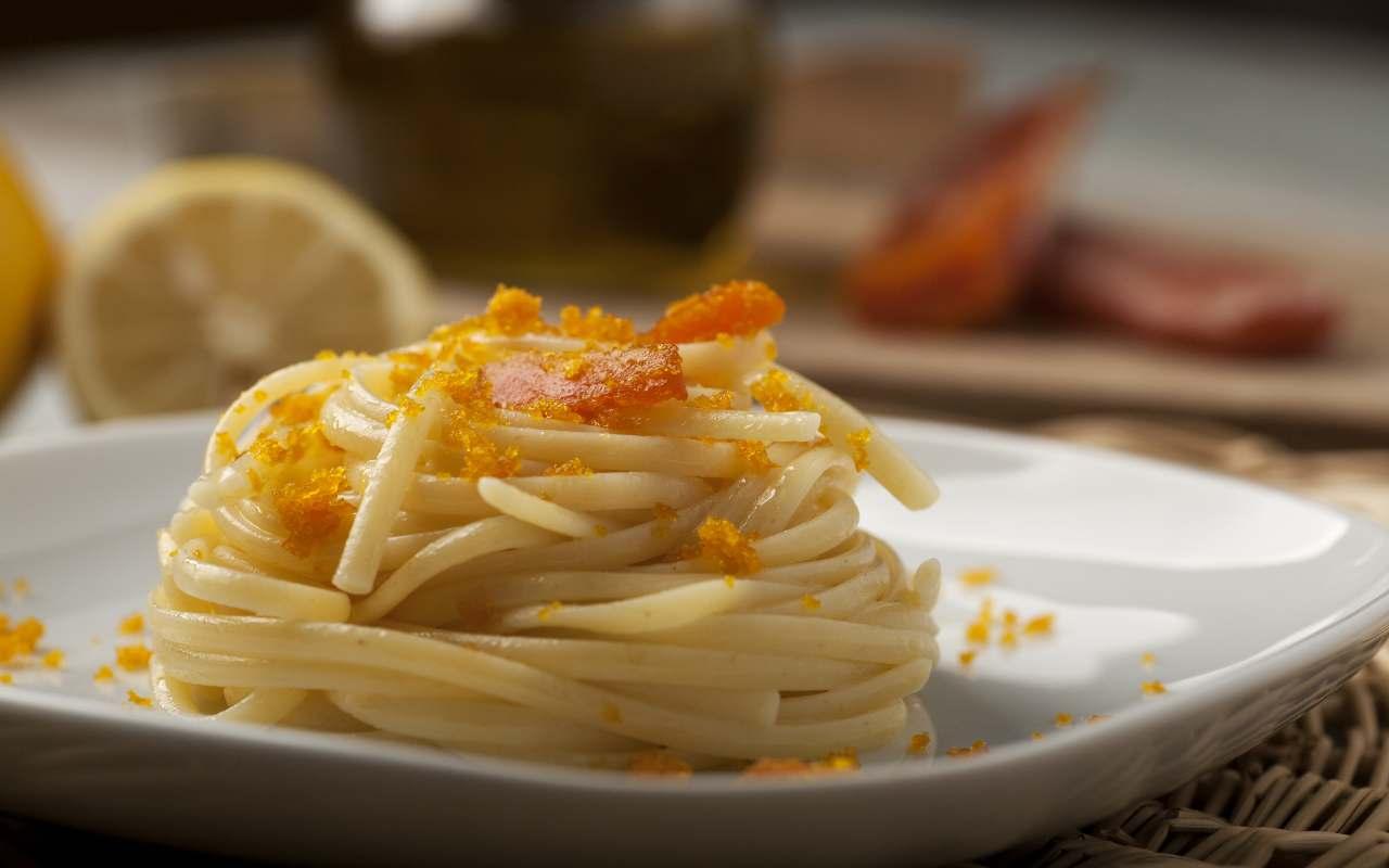 spaghetti bottarga ricetta FOTO ricettasprint