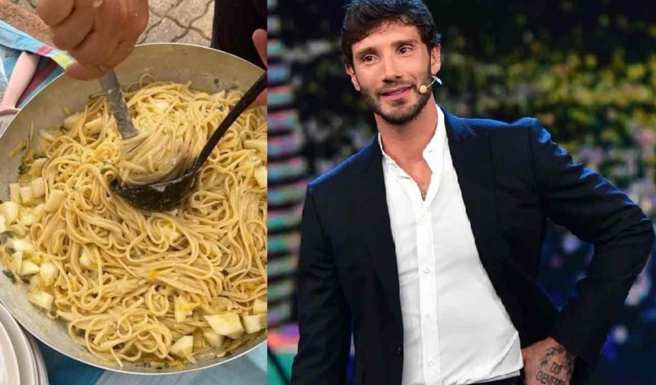 Stefano De Martino in cucina - RicettaSprint