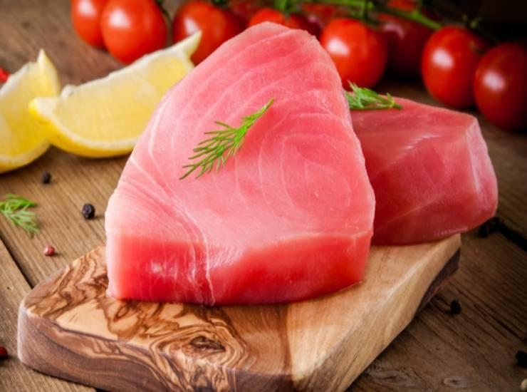 Tartare di tonno e sesamo FOTO ricettasprint