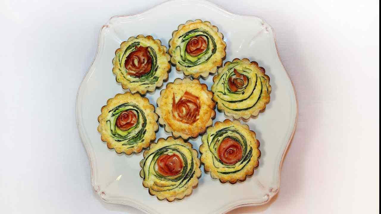 torta involtini zucchine salmone ricetta FOTO ricettasprint
