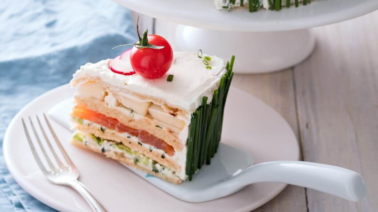 torta pancarrè tonno pomodori ricetta FOTO ricettaspint