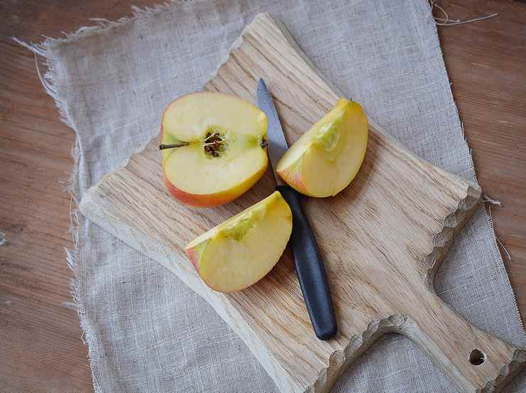 Torta integrale con mele