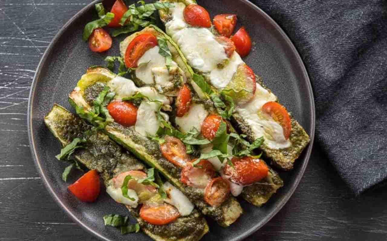 zucchine capresi ricetta FOTO ricettasprint