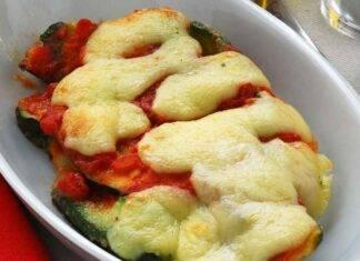 Contorno di verdure con formaggio