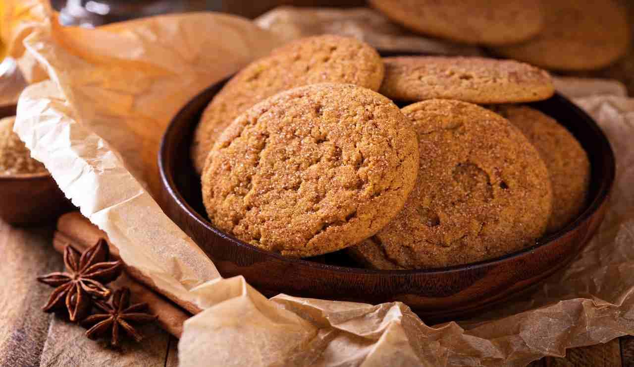 biscottini cannella vaniglia senza uova e burro
