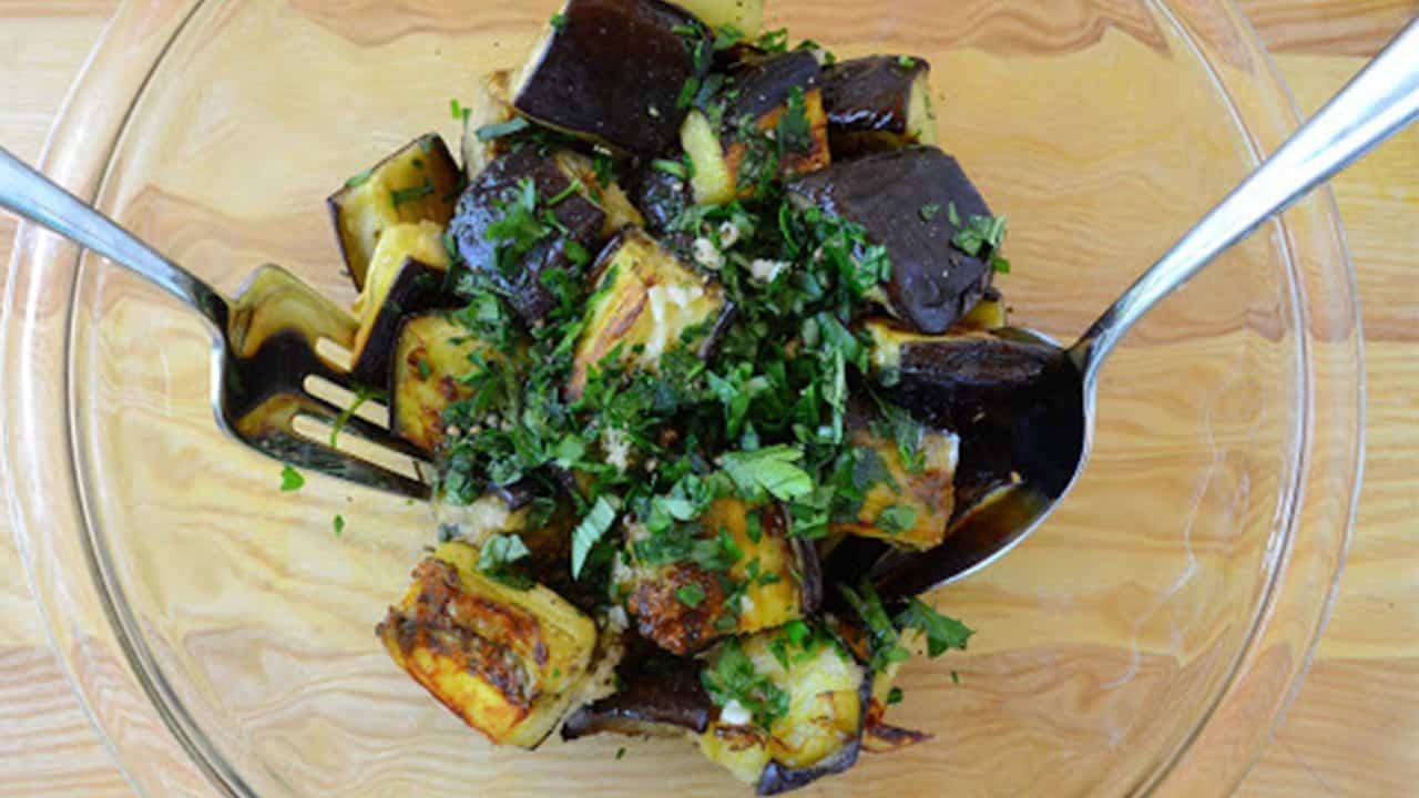 melanzane aglio e prezzemolo