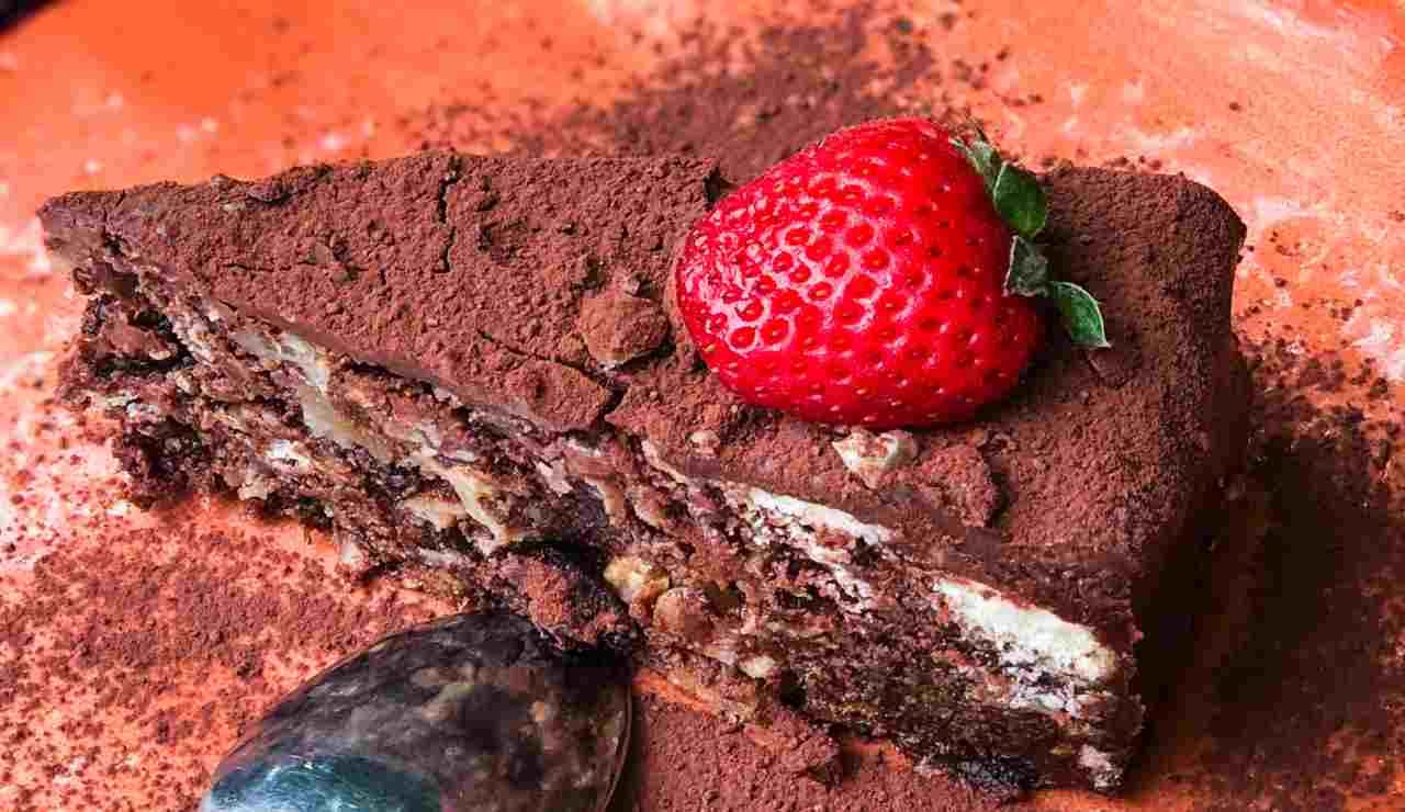 torta cioccolato 3 ingredienti ricettasprint