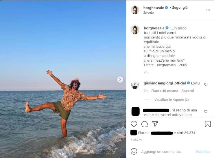 Alessandro Borghese equilibrio in bilico - RicettaSprint