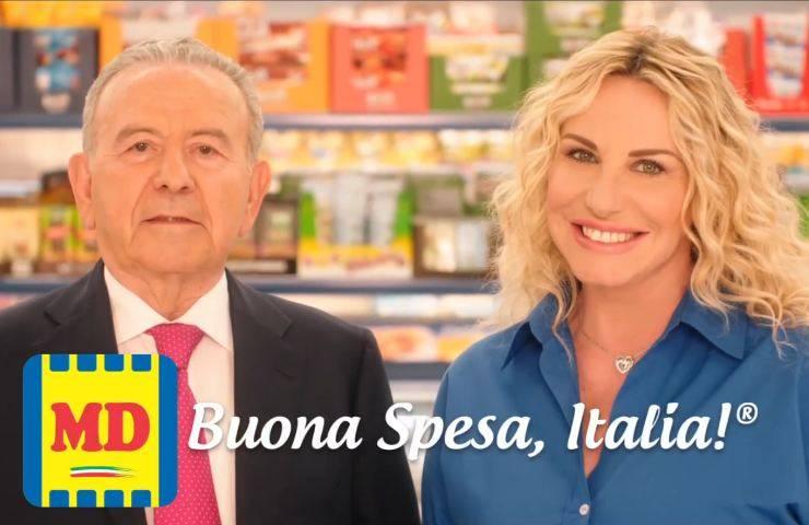 Antonella Clerici e Patrizio Podini per MD