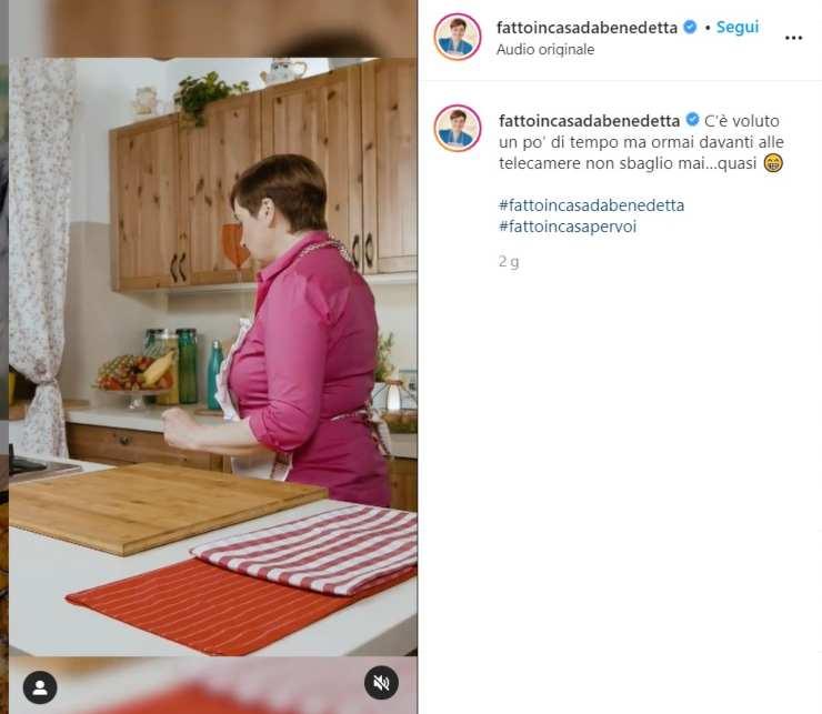 Benedetta Rossi non si trattiene - RicettaSprint
