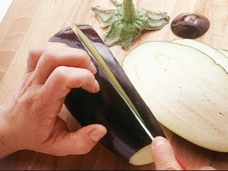 Bruschetta con mozzarella e melanzane FOTO ricettasprint