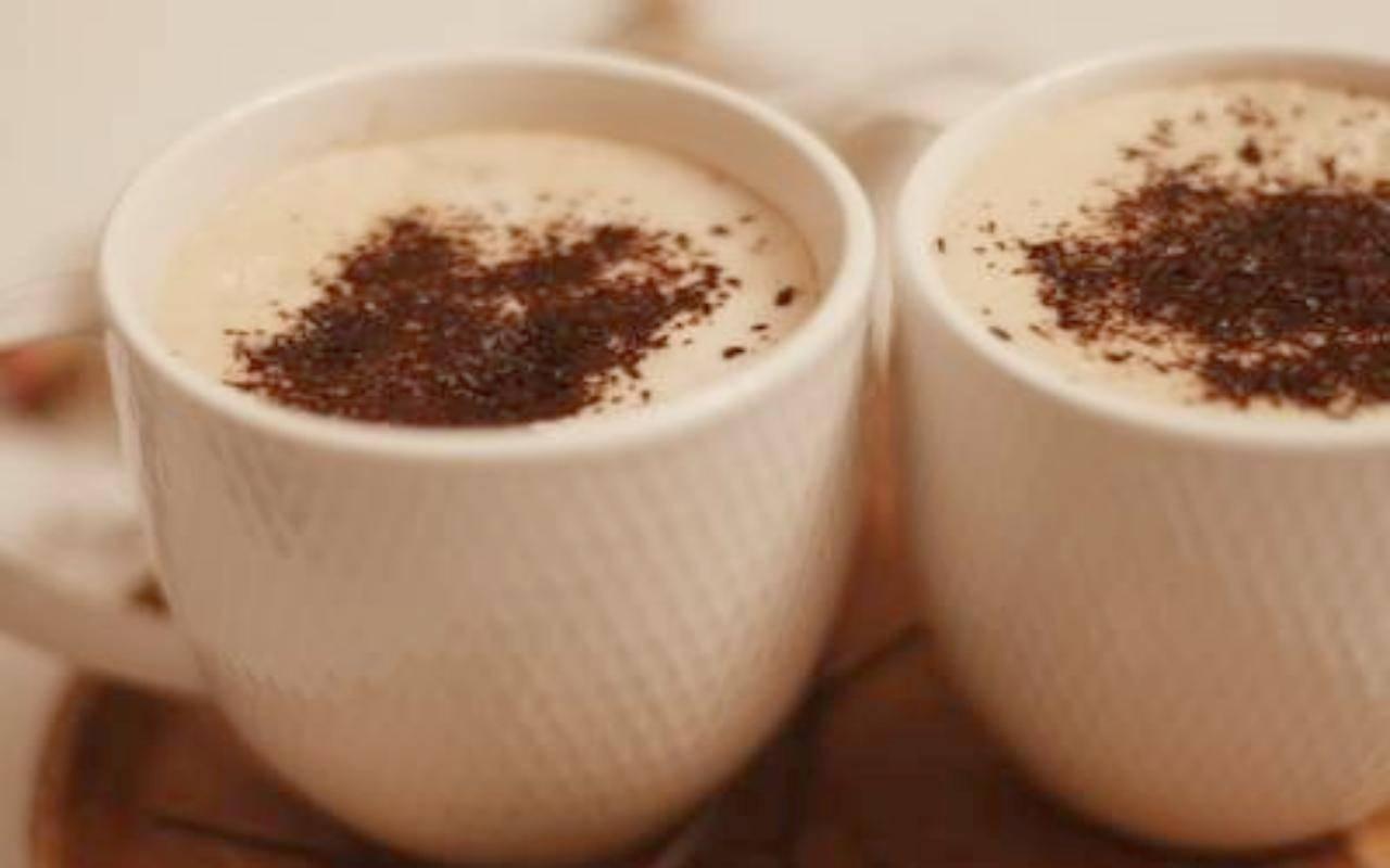 caffè spumoso nutella ricetta FOTO ricettasprint