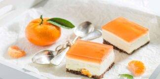 Cheesecake mascarpone e mandarino
