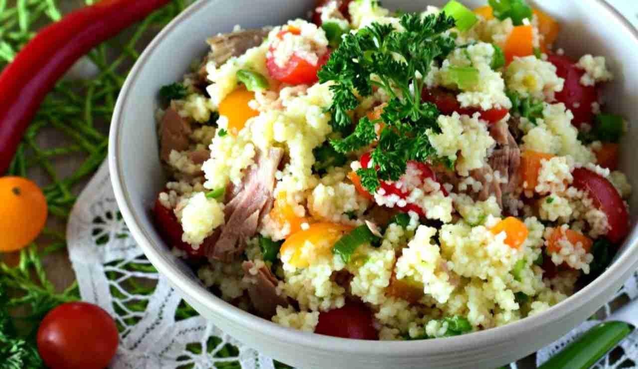 Cous cous all'insalata