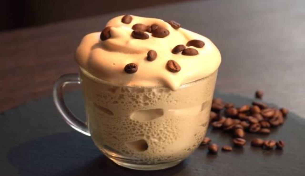 Crema di caffè alle mandorle