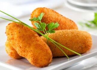 Finger food con formaggio e melanzane
