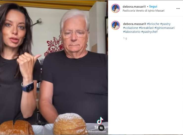 Debora e Iginio Massari sfida in cucina - RicettaSprint