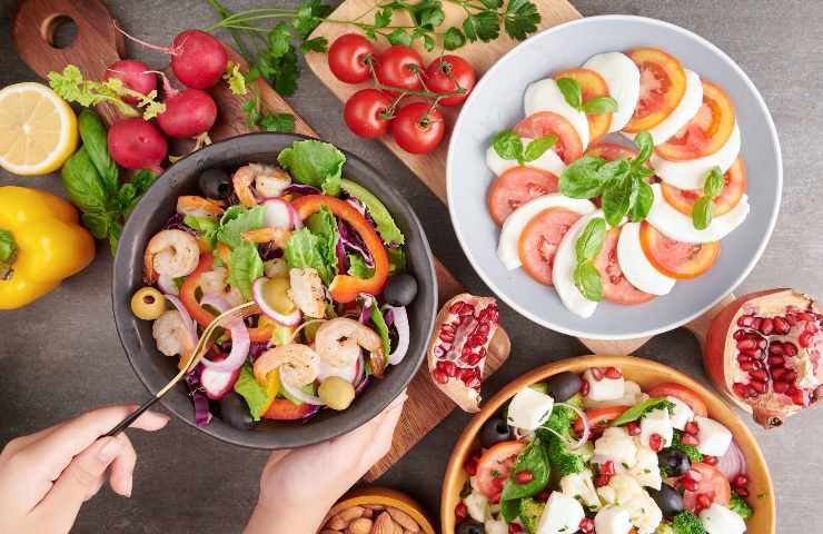 Dieta Mediterranea verde cosa mangiare