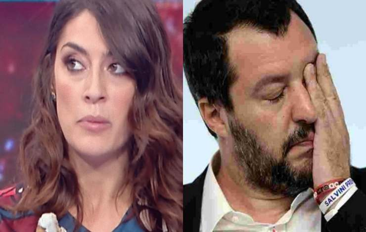 Elisa Isoardi Matteo Salvini - RicettaSprint