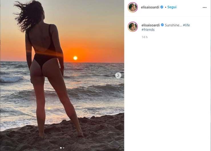 Elisa Isoardi sorriso smagliante - RicettaSprint