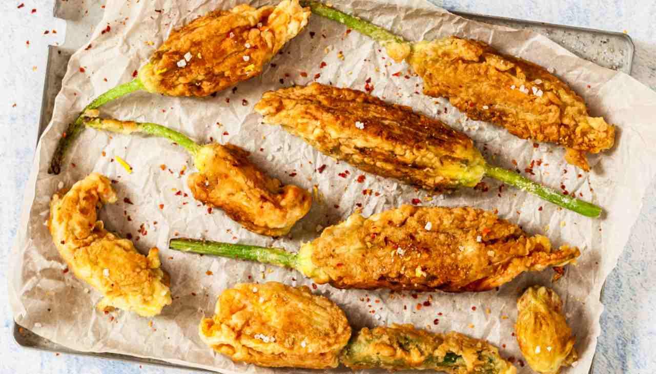 Stuzzichini vegetali con panatura croccante