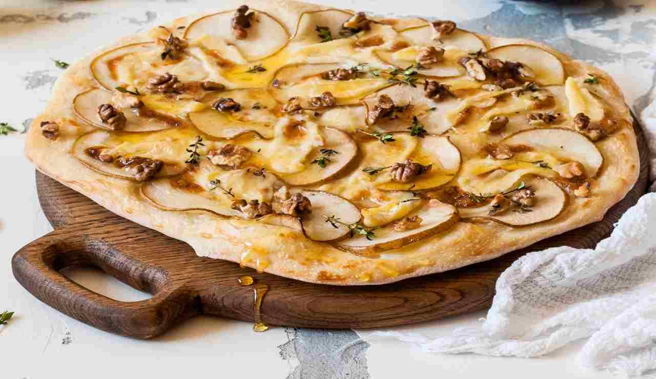 Focaccia furba integrale noci e patate