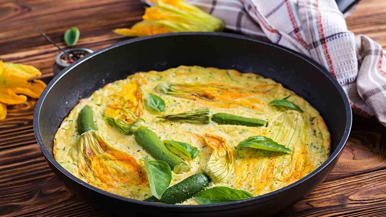 Frittata con zucchine