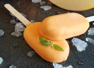 ghiaccioli melone ricetta FOTO ricettasprint
