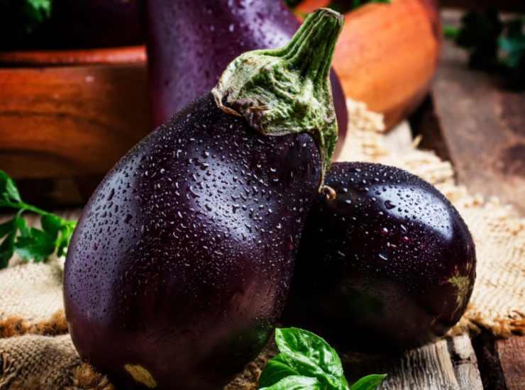 Giardiniera di melanzane senza cottura FOTO ricettasprint