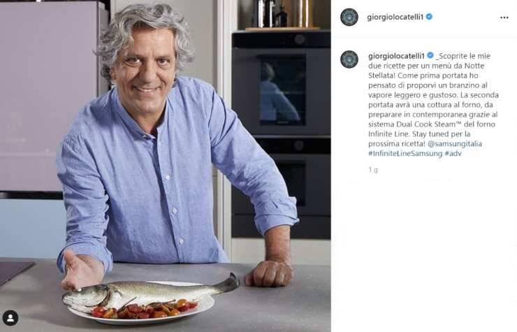 Giorgio Locatelli notte stellata - RicettaSprint