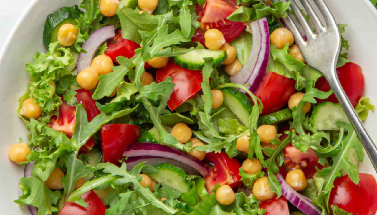 Finger food di verdura e legumi