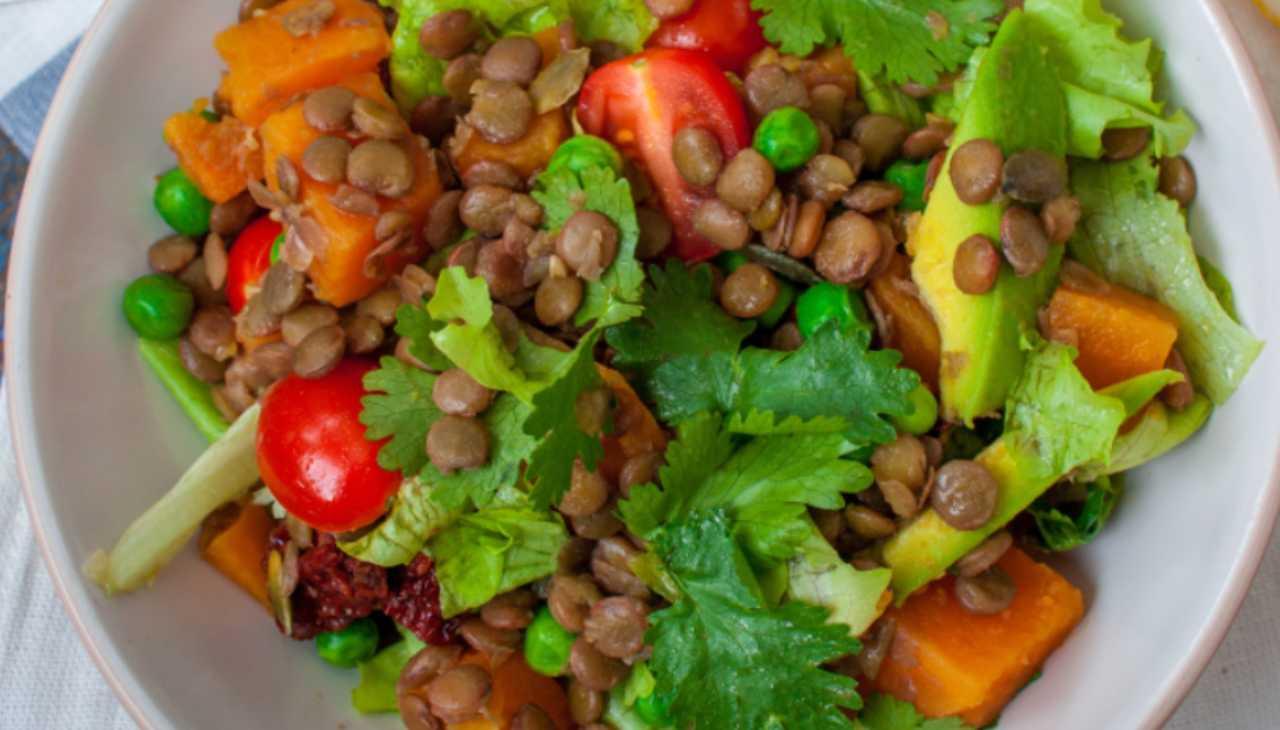 Finger food di legumi con verdura