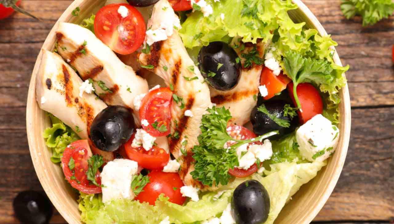 Finger food di carne con verdure