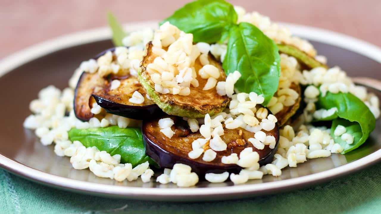 Insalata grano e verdure