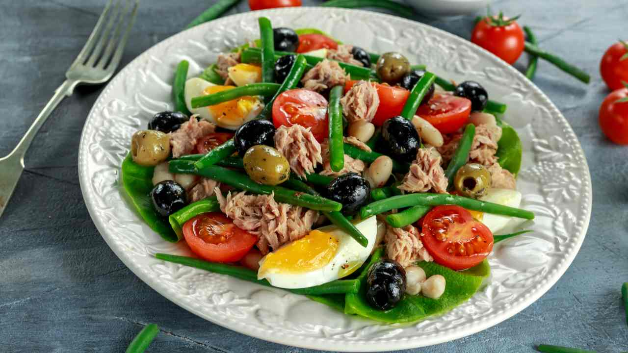 verdure e uova
