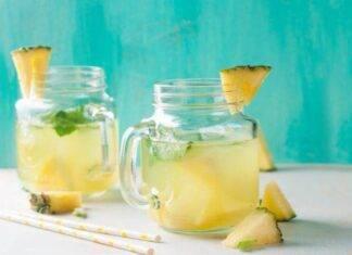 limonata ananas ricetta FOTO ricettasprint