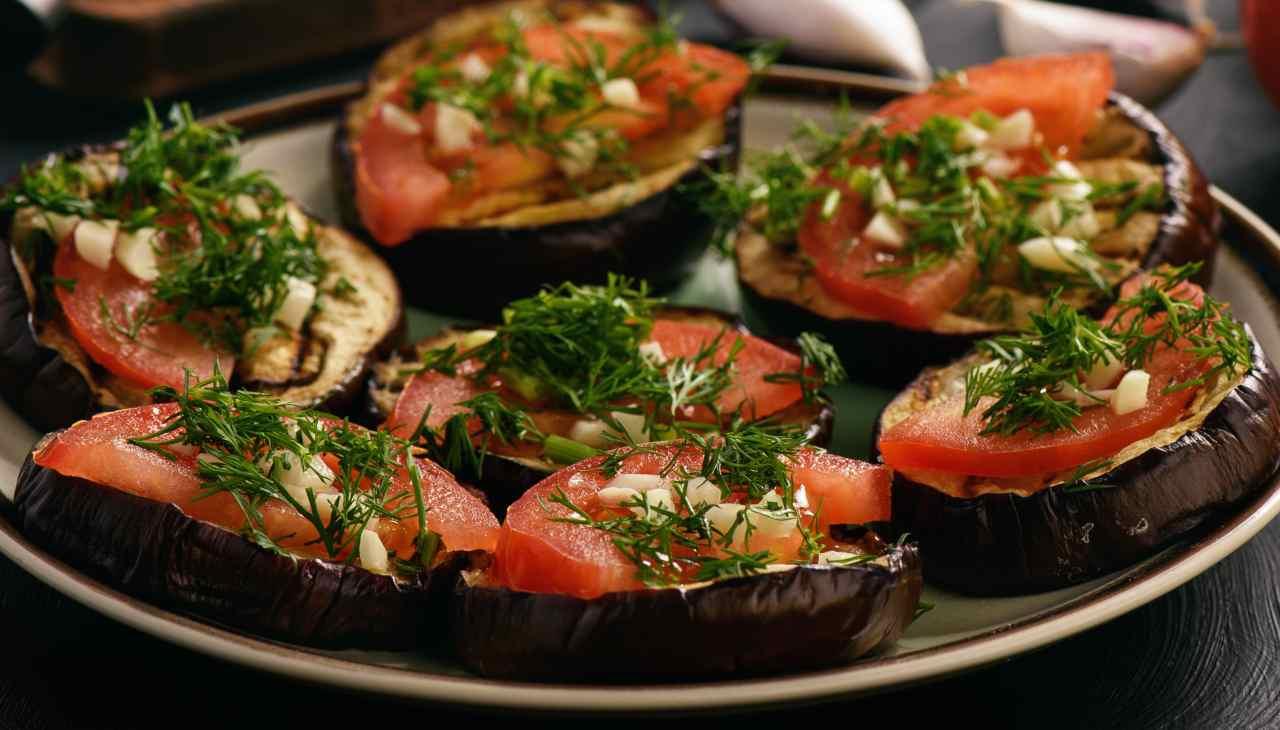 Verdure con aglio e prezzemolo