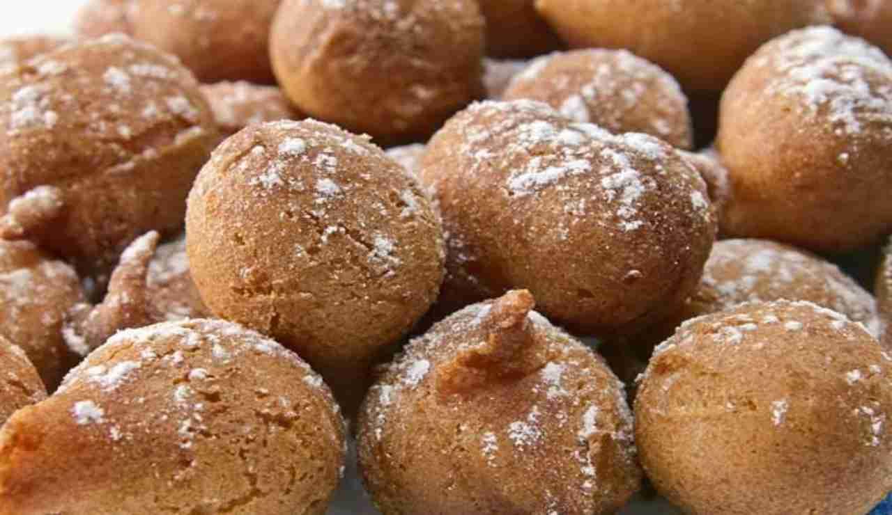 Palline dolci mascarpone e mela