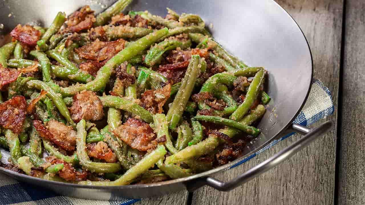 fagiolini con pasta