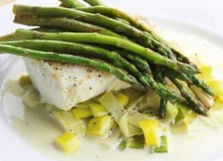 Secondo di pesce con verdure