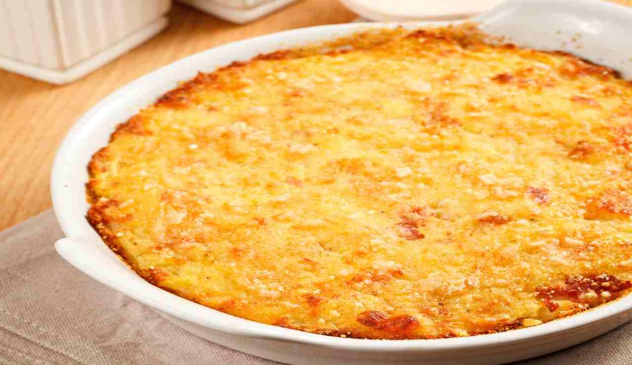 Torta rustica patate e zucchine